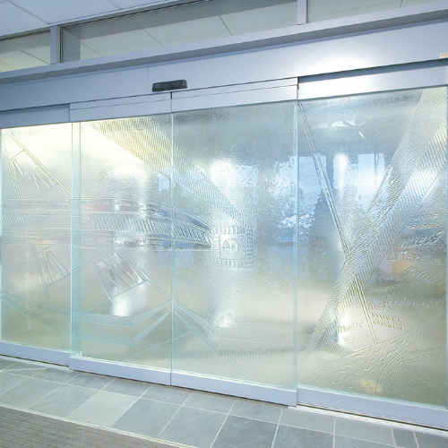 Frameless Automatic Sliding Doors